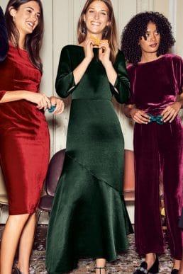 Boden Rebecca Satin Maxi Dress Chatsworth Green