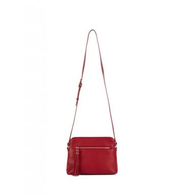 Hobbs Helmsley Satchel Red