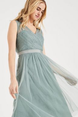 Romy Tulle Bridesmaid Dress Pale Mint Phase Eight