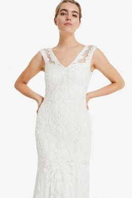 Phase Eight Valerie Tapework Bridal dress Ivory