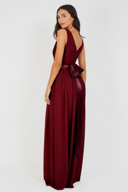 2c25ff7719e1 TFNC Kily Maxi Bridesmaid Dress Burgundy ...