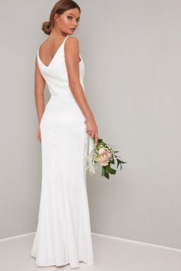 Chi Chi Bridal Mariam Maxi Wedding Dress White