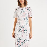 Phase Eight Danni Printed Floral Dress Pink Multi