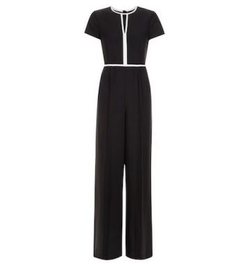 Hobbs Effie Jumpsuit Black White
