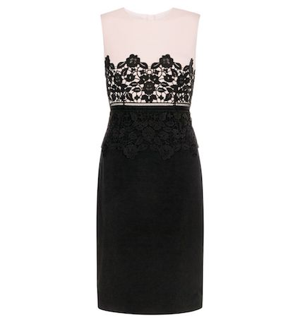Hobbs Seraphina Lace Dress Blackblush