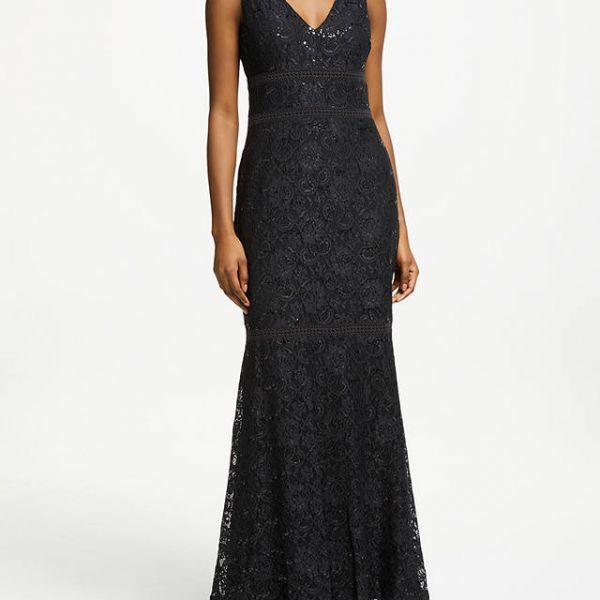 efefd622 ralph lauren black long dress – Little Black Dress | Black Lace ...