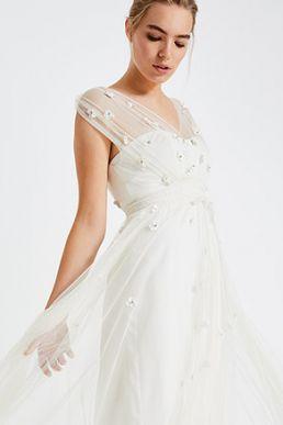 b92a5c82570a8 Phase Eight Mylee Embellished Wedding Dress, Ivory | myonewedding.co.uk