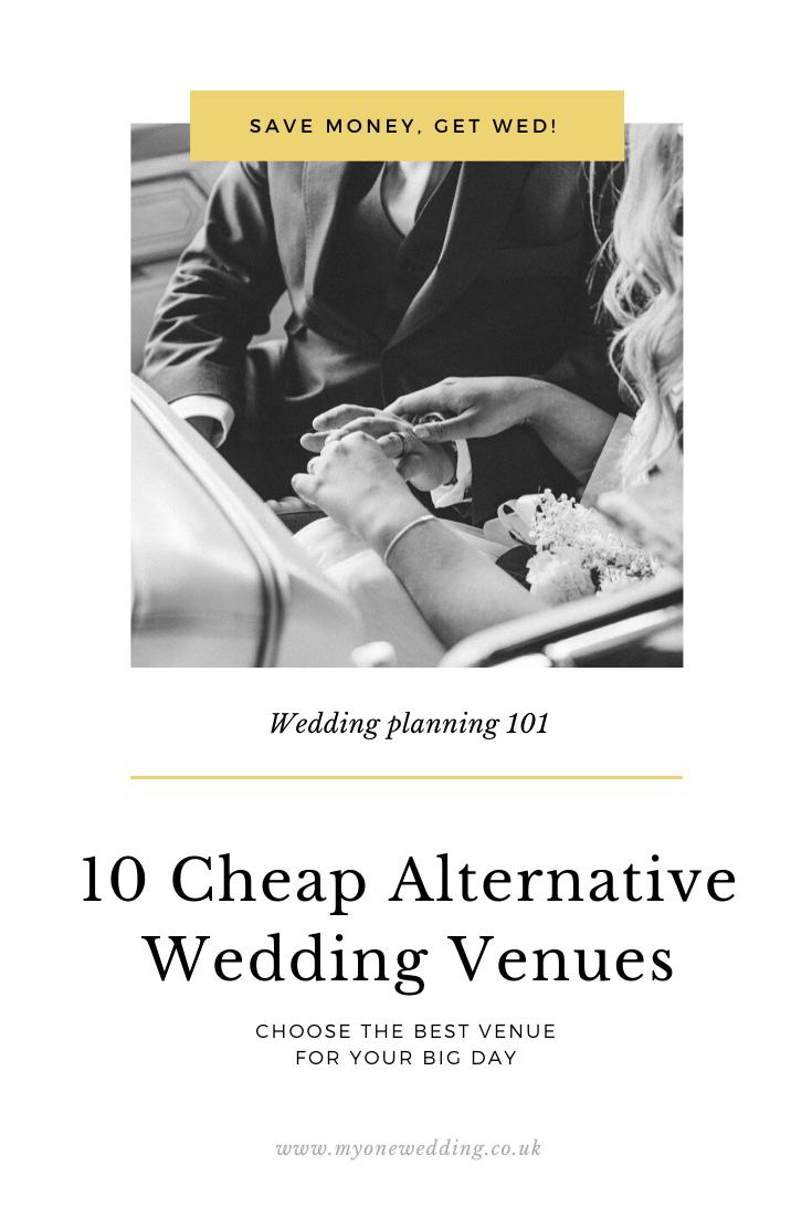Save Money, Get Wed: 10 Cheap Alternative Wedding Venues