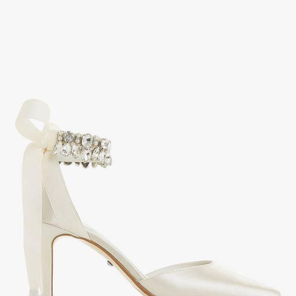 cc2f5278f5ce Dune Church Bridal Collection Stiletto Heel Court Shoes Ivory Satin. Dune  Church Bridal Collection Stiletto Heel Court Shoes Ivory Satin