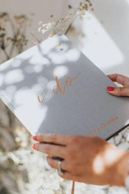 'I Do' Wedding Journal/ Wedding Planner