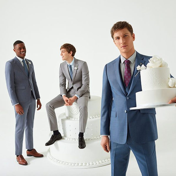 Dapper Grooms Choosing The Right Wedding Suit Get Wed With Ted