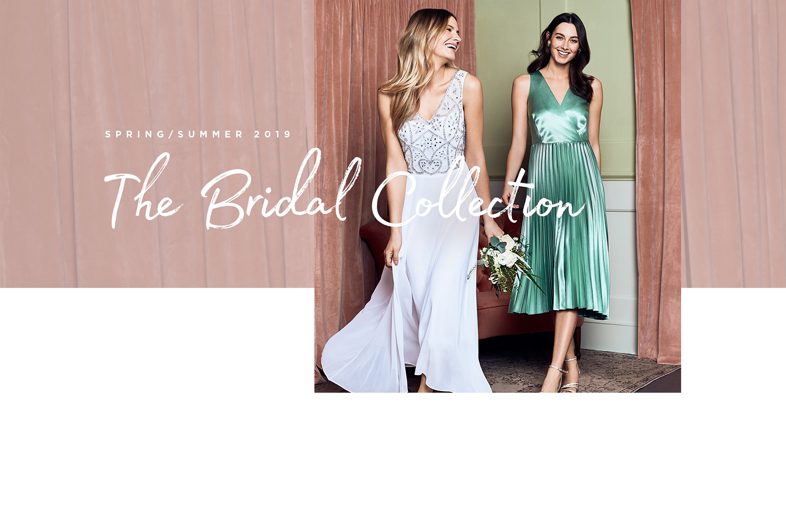 wedding shop SS19 highstreet bridesmaid wedding dresses dorothy perkins
