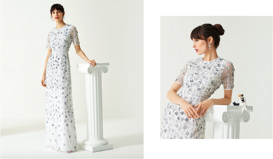 ted baker high street wedding collection SS19 wedding outfits tie the knot bridesmaid wedding guest