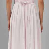 Ted Baker FINELLA One shoulder maxi bridesmaid dress Blush Pink