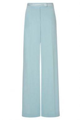 Hobbs Ellen Wide Leg Trouser Aqua Blue