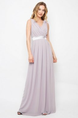 TFNC Kily Maxi Bridesmaid Dress Lavender Lilac