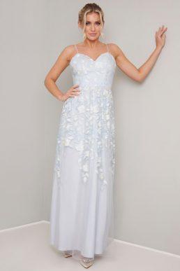 af0701210 Chi Chi Jazzie Embroidered Maxi Dress Blue ...