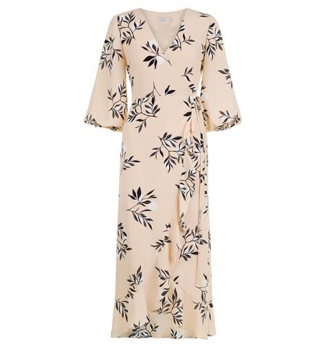 9b71032218 Hobbs Kayla Leaf Print Sleeve Dress Pink Multi. Hobbs Kayla Leaf Print  Sleeve Dress Pink Multi