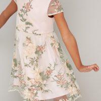 Chi Chi Girls Bryanna Dress Ivory Multi