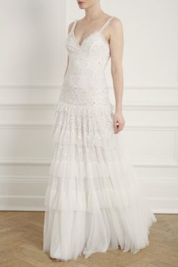 Needle & Thread Gracie Cami Bridal Gown Ivory