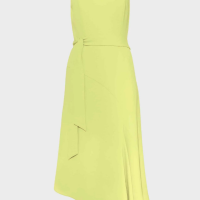 Phase Eight Tamara Asymmetric Dress Yellow