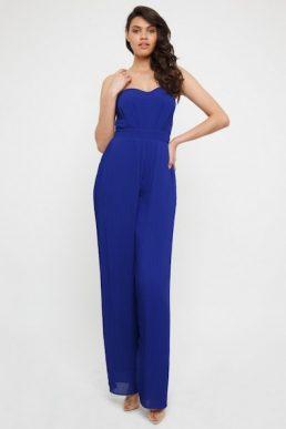 TFNC Diray Cobalt Jumpsuit Blue