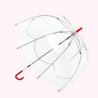Lulu Guinness Clear Pearls Birdcage Umbrella