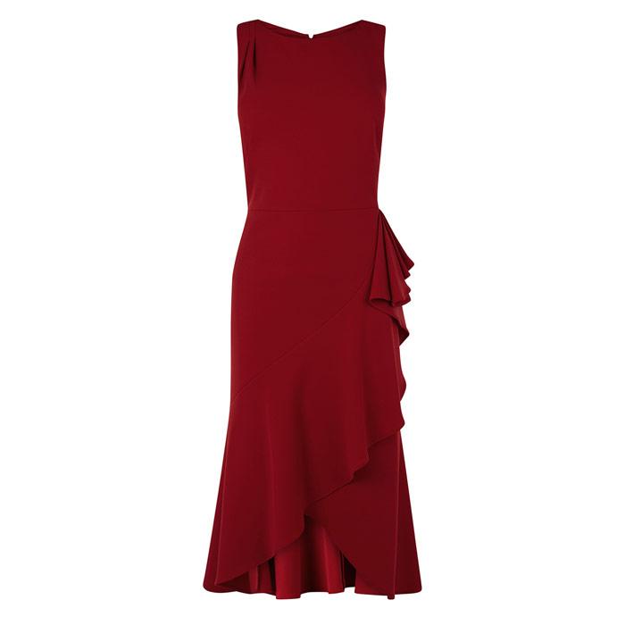 maddison ruffle dress