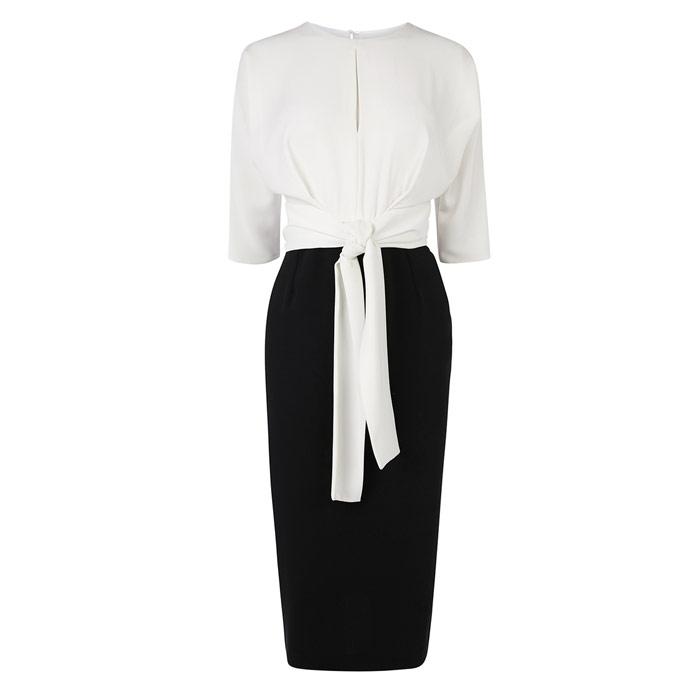 Mono Knot Front Dress