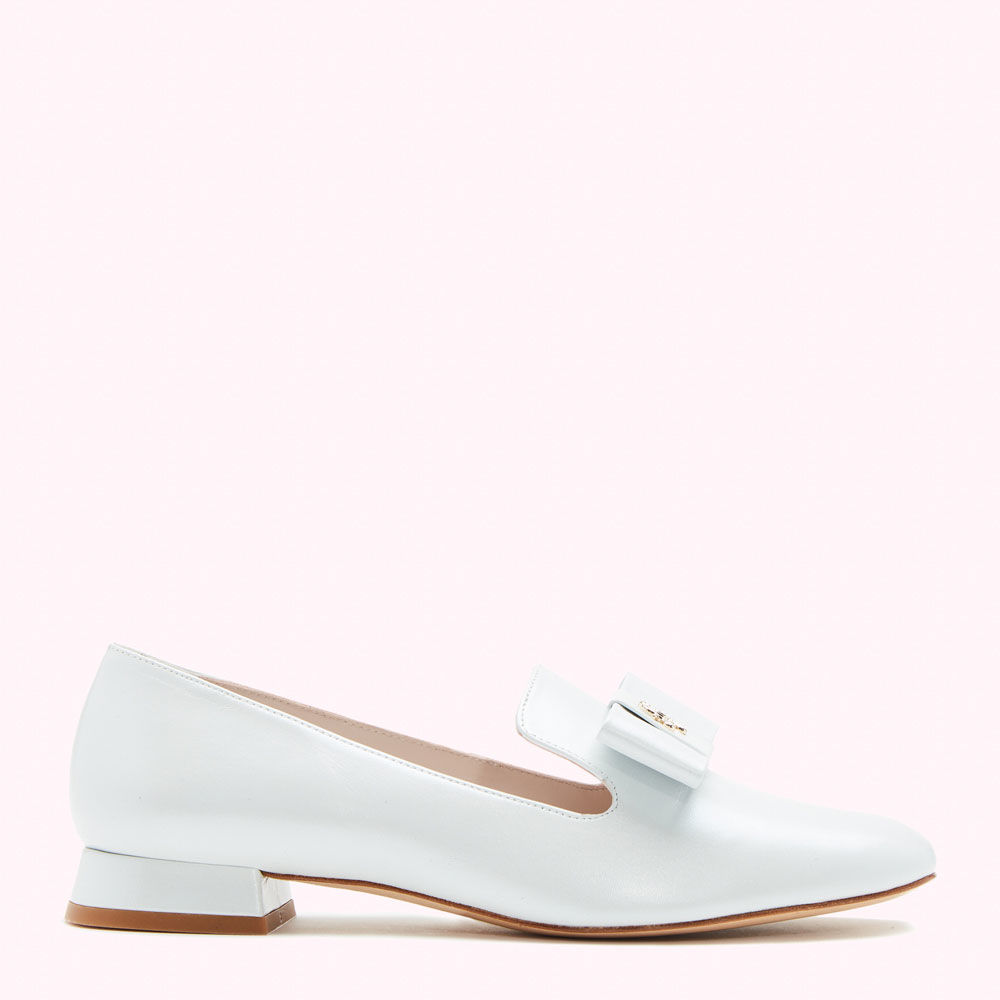 LEATHER OYSTER ZOE LOAFER £245.00