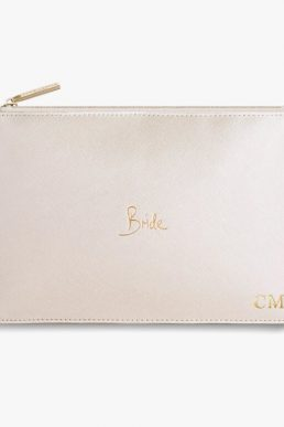 perfect pouch bride pearlescent