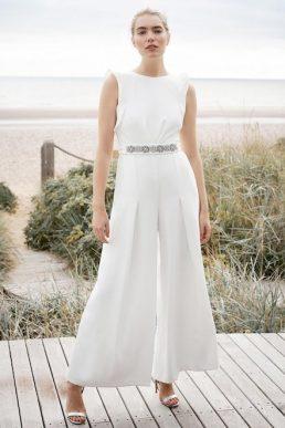 Phase Eight Victoriana Bridal Jumpsuit Ivory