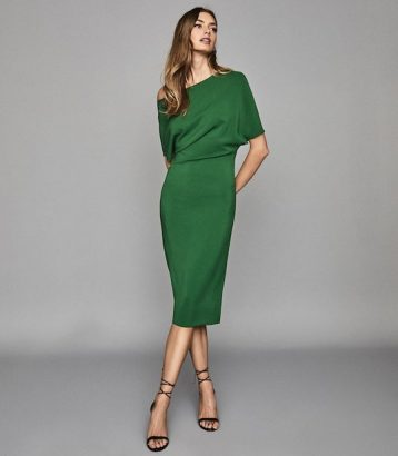 Reiss Madison Slim Fit Dress Madison Bright Green