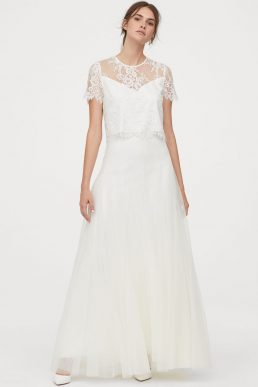 H&M Tulle wedding skirt Ivory