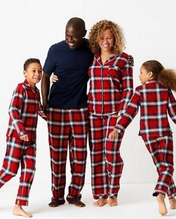 Cotton Checked Pyjama Set (1-16 Years)