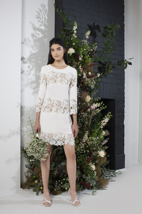 FC Bridal Fenyala Lace Mix Dress