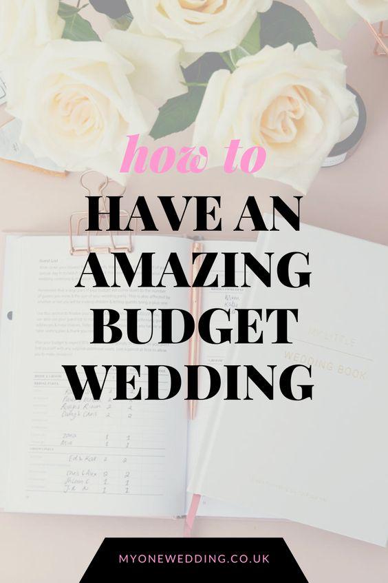 save money low budget wedding