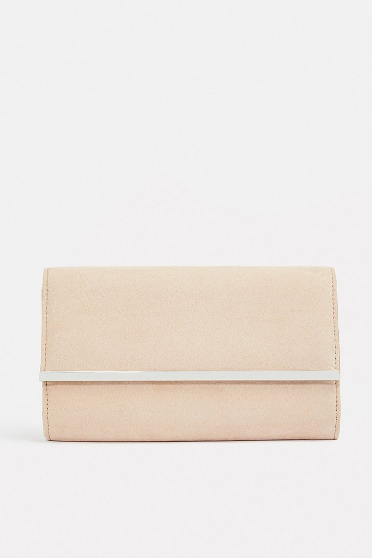 Gold Bar Clutch Bag