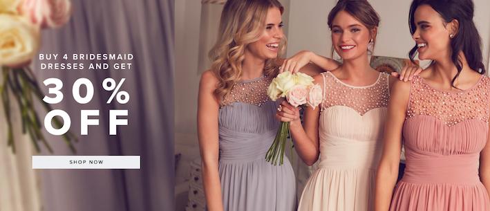 little mistress bridesmaid dress offer