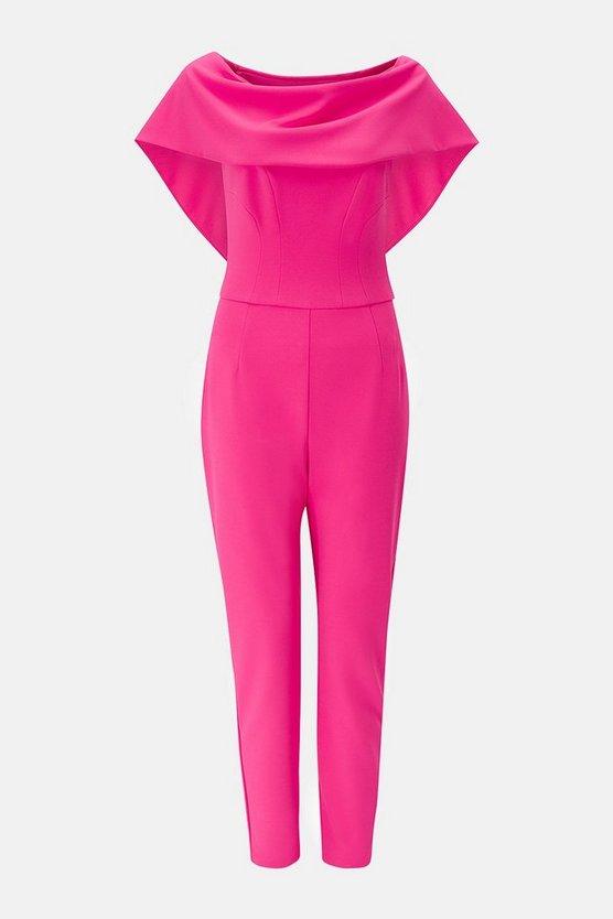 Scuba Bardot Jumpsuit