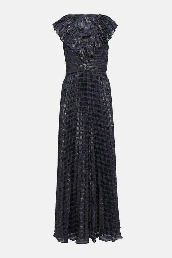Sparkle Burnout Maxi Dress