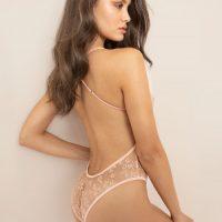 Agent Provocateur Zadi Lace Body Nude