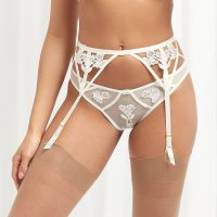 Bluebella Bridal Nova Suspender Ivory