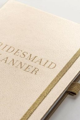 Busy B Gold Bridesmaid Wedding Planner