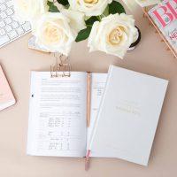 Wedding Planner Book Frost Grey