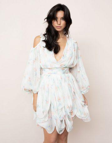 Agent Provocateur Aimeline Dress White Multi