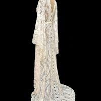 Bibiluxe AMARA lace boho wrap beach wedding dress