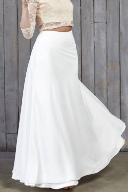 Hammond Bridal Maxi Skirt Ivory