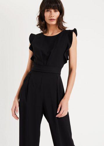 Phase Eight Victoriana Jumpsuit Black