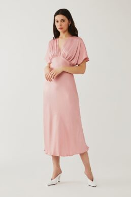Ghost Bluebell Maxi Dress Dusted Pink